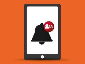 Mobil uygulamaların başarısında anlık bildirimlerin önemi
